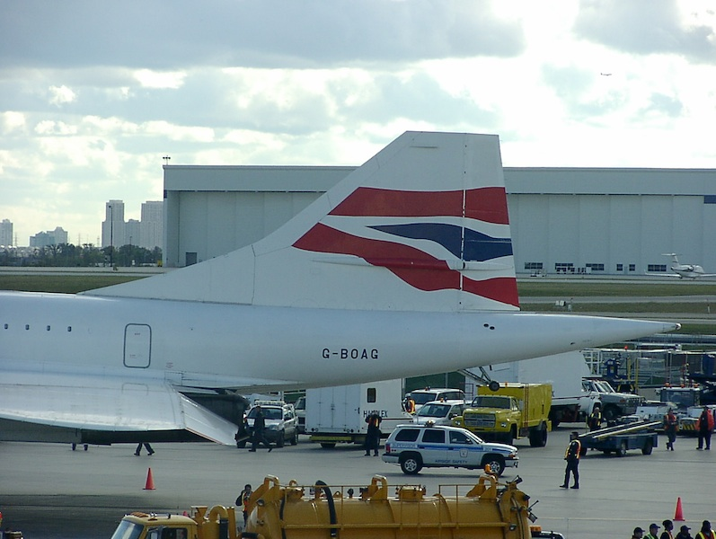 British Airways Concorde BA97 YYZ to JFK 2 October 2003