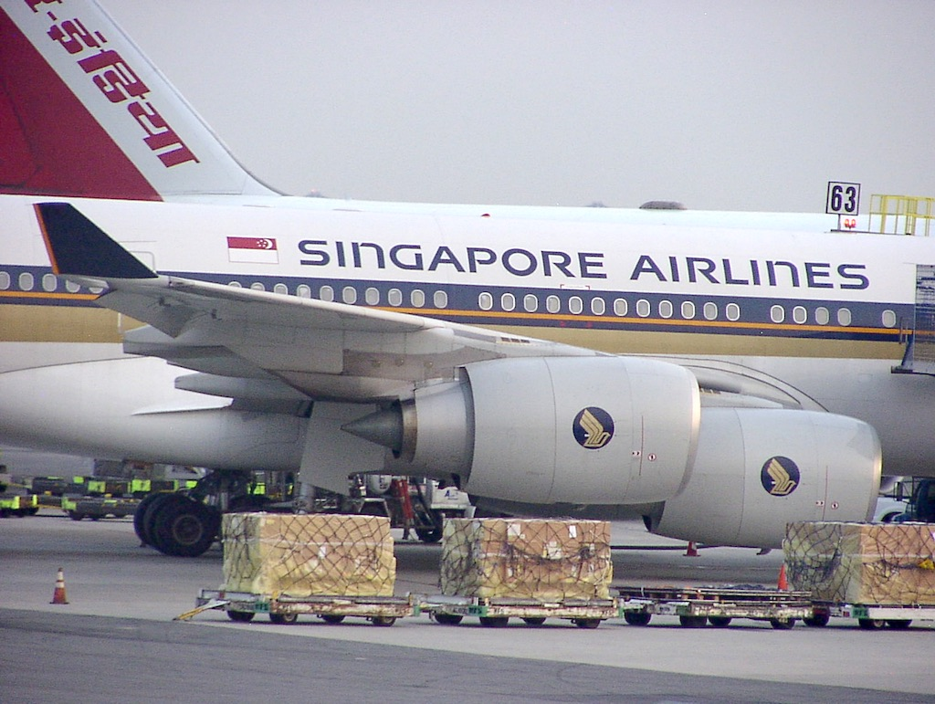 World's Longest Flight - Singapore Airlines Airbus A340-500 Engines, 30 June 2004 Newark (EWR) to Singapore (SIN)