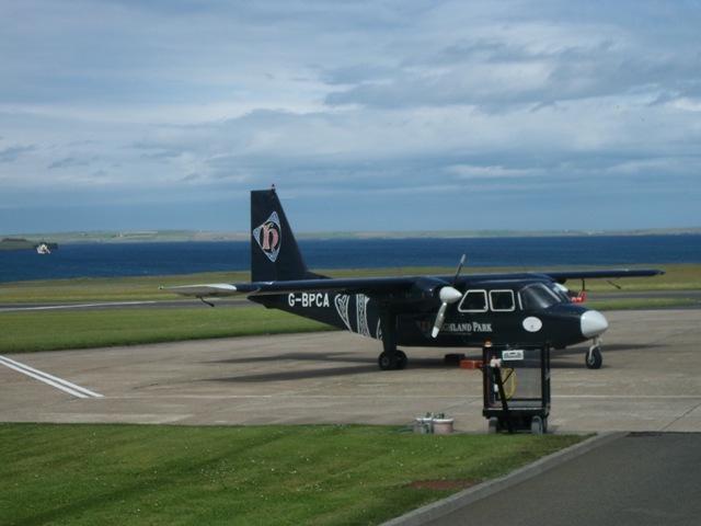 Loganair Norman Islander