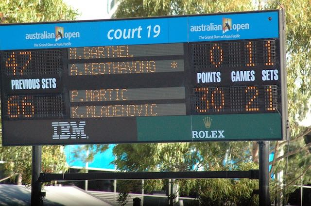 Australian Tennis Open 2012 court19