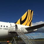 TIger Airways Airbus A320 Rear Stairs