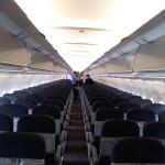 Tiger Airways Airbus A320 Interior