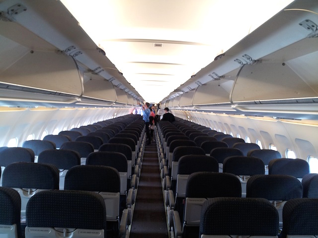 Tiger Airways Airbus A320 Interior