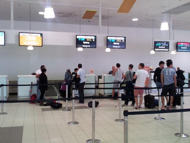 Tiger Airways Check-i Ccounter