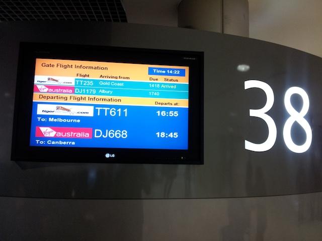 Tiger Airways Gate 38 Sydney