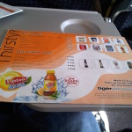 Tiger Airways Inside Menu