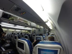 Korean Air Cabin Interior