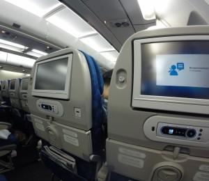 Korean AIr Seat Back Video