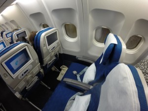 Korean Air Seats