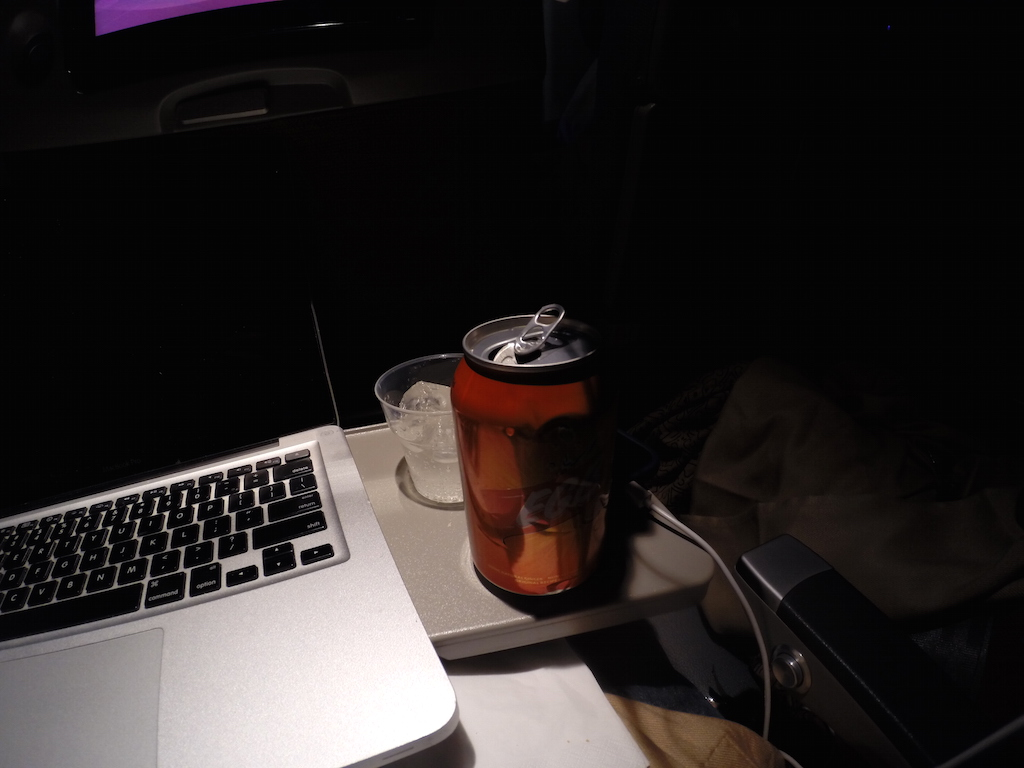 Sri Lankan Airlines Economy Class Ginger Beer (EGB)