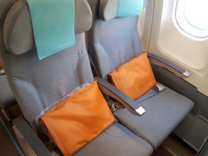 SriLankan Airlines Economy Class Seats Aisle and Window