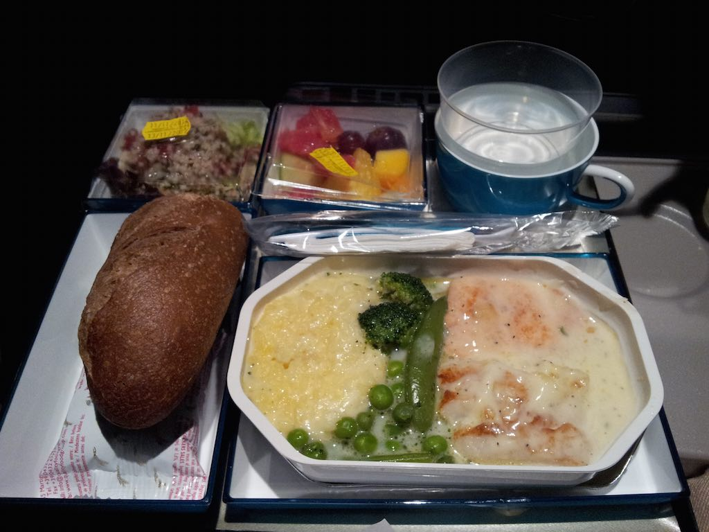 SriLankan Airlines Economy Class Second Meal