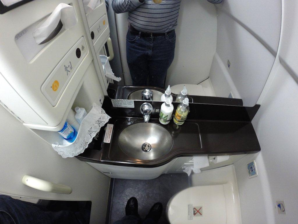 SriLankan Airlines Economy Class Toilet