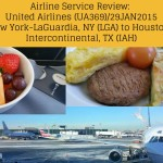 Airline Service Review - United Airlines 369 - LGA to IAH