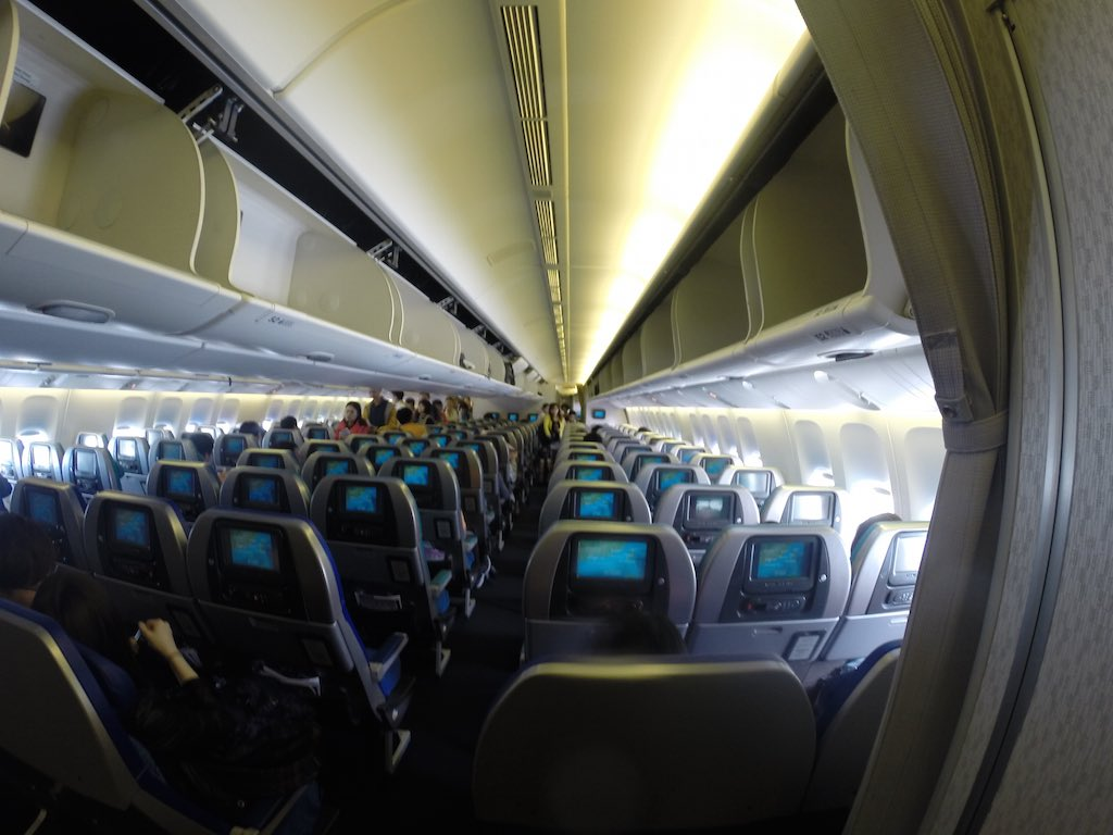 Cathay Pacific (CX) Boeing 773 Interior