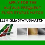 Alitalia Millemiglia Status Match