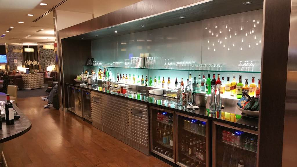 British Airways Bar Galleries Lounge Newark, NJ (EWR)