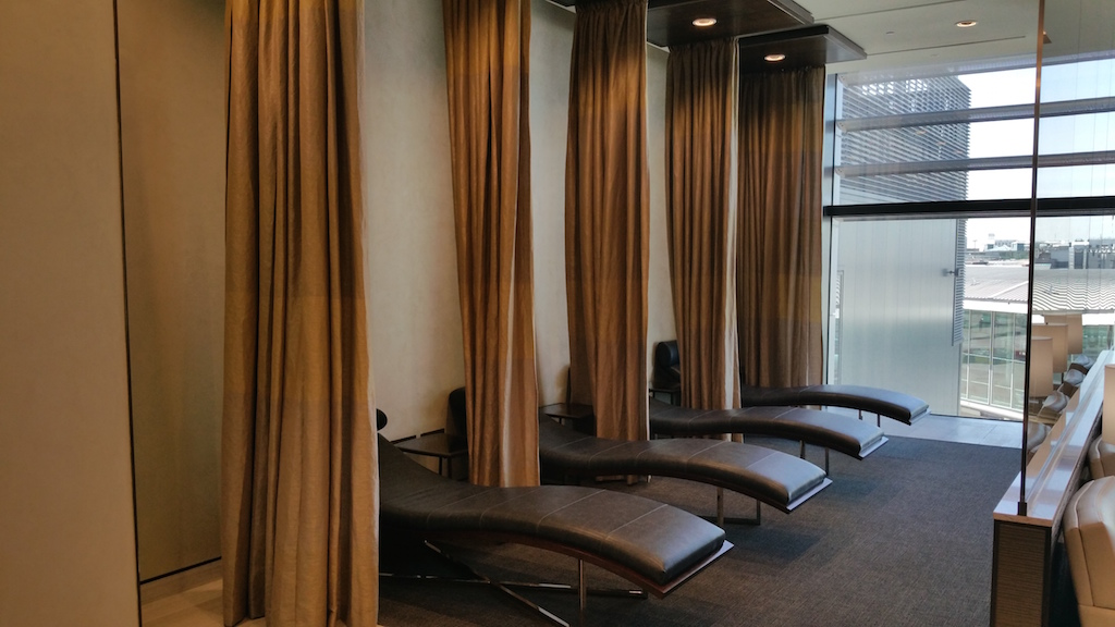 Global First Lounge London-heathrow (LHR) Sleeping Area