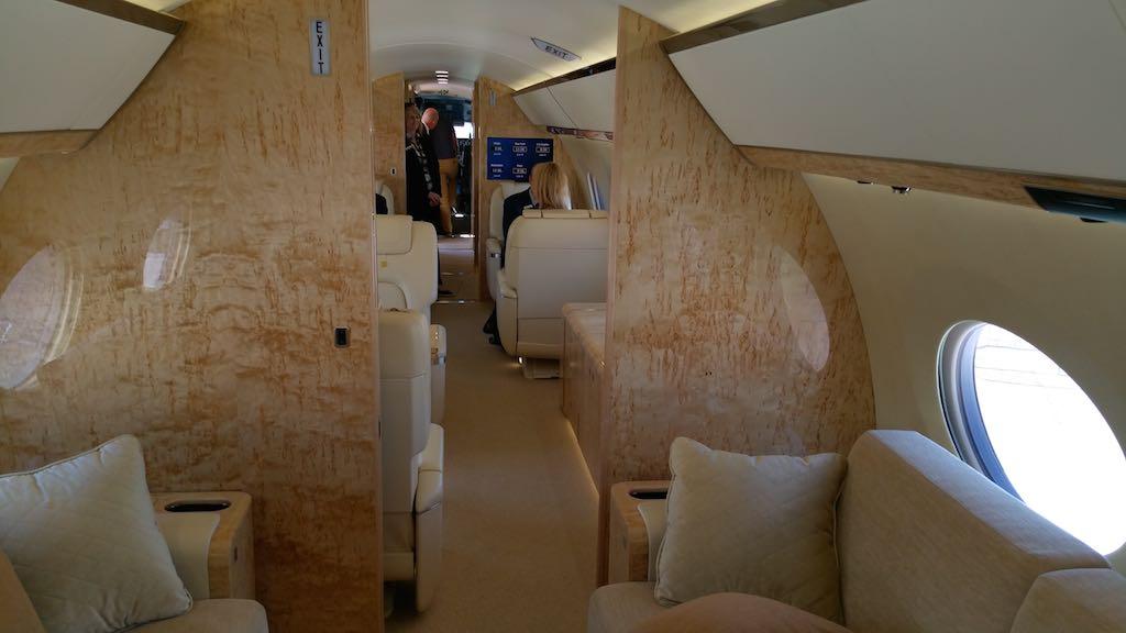 Gulfstream G650ER InteriorI
