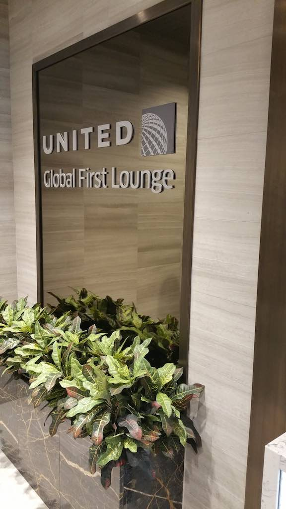 United Global First Lounge in London-Heathrow (LHR)