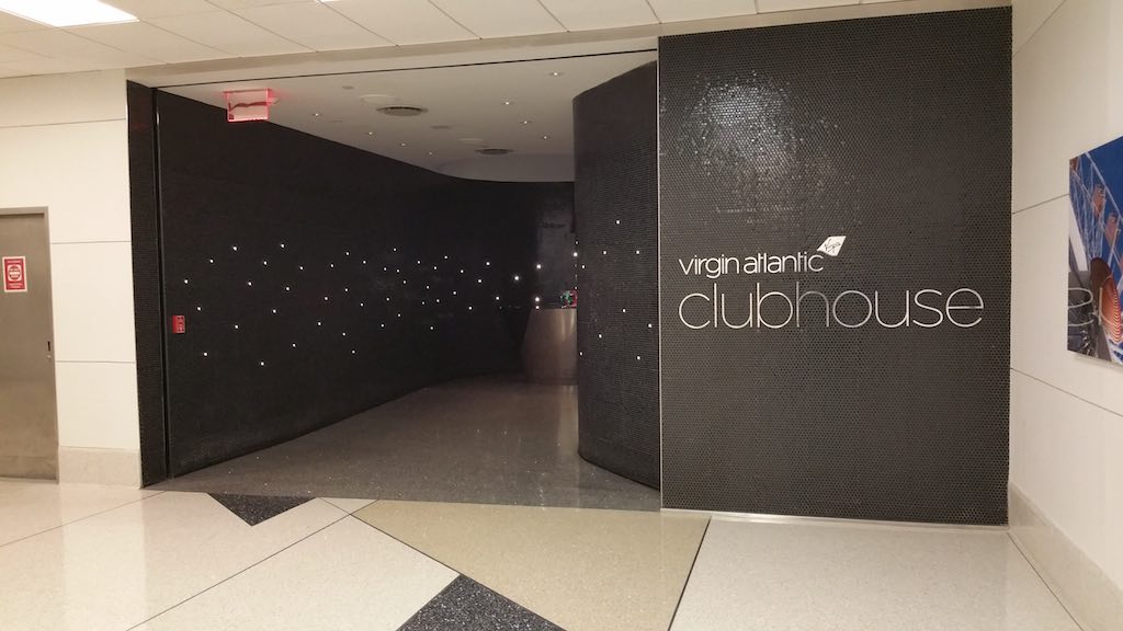 Virgin Atlantic clubhouse Newark, NJ (EWR)