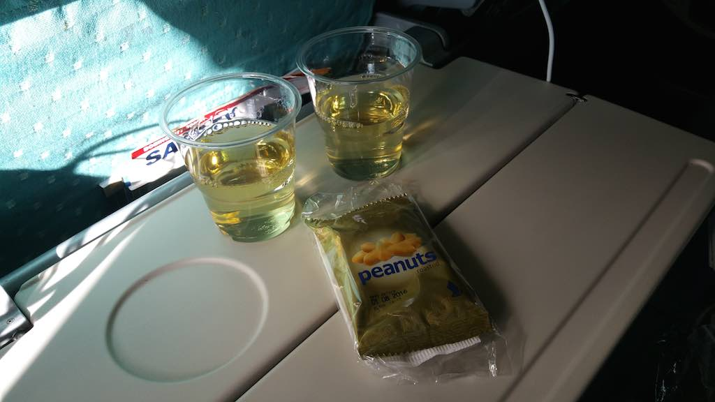 Singapore Airlines Meal Start