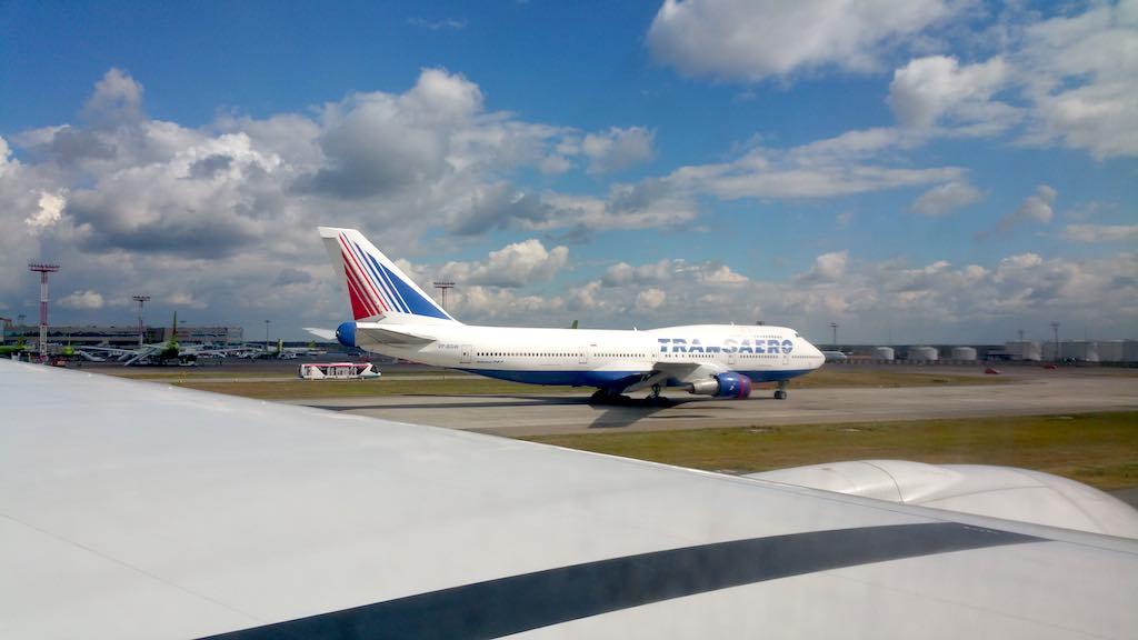 Singapore Airlines Transaero Boeing 747-300