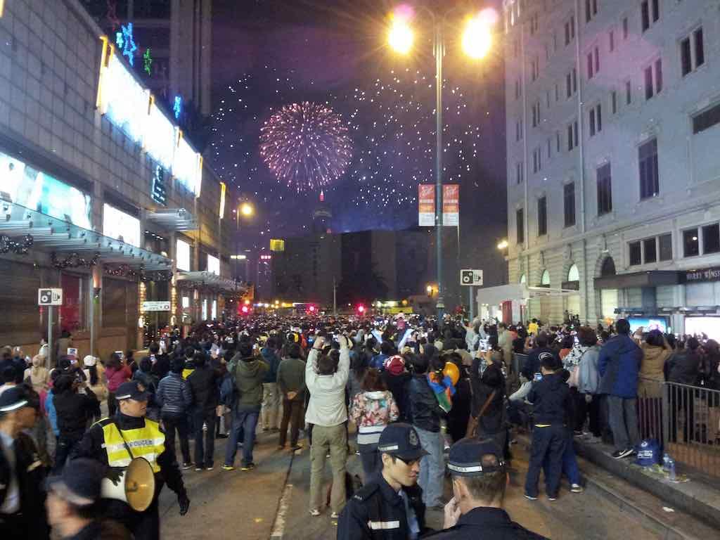 New Year's Hong Kong 2014