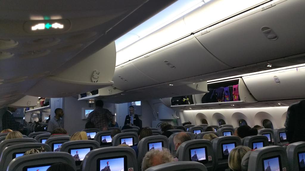 Norwegian Air Shuttle Boeing 787 Interior