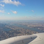 Winter storm Jonas 2016 Jan New York from the Air