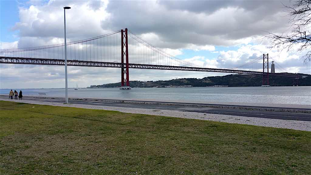 25 de Abril Bridge - Lisbon, Portugal