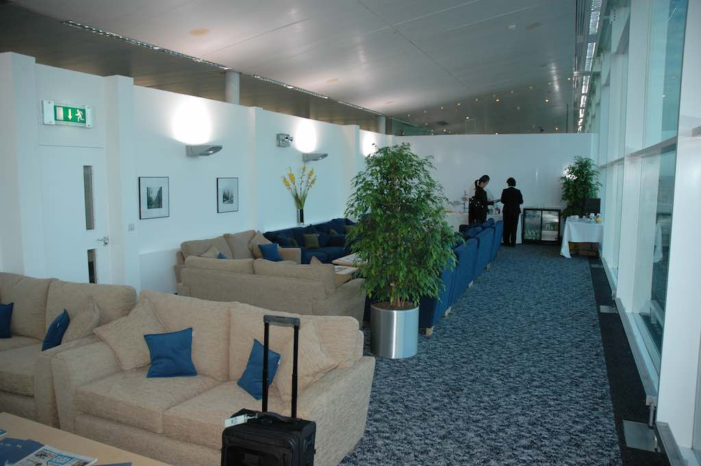 EOS Flight 1 - 23 Oct 2005 - Inside the Lounge