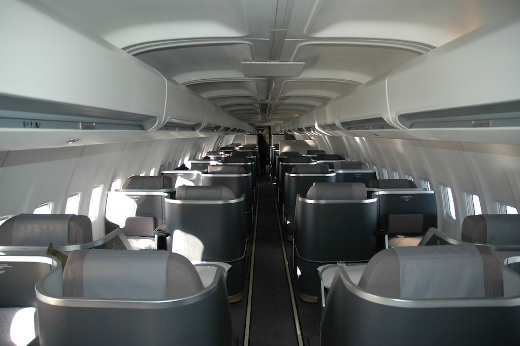 EOS Flight 1 - 23 Oct 2005 - Cabin