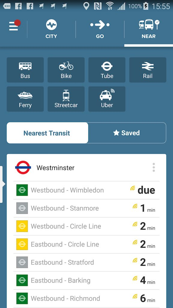 App of the Week March 2, 2016 City Mapper - Near Me