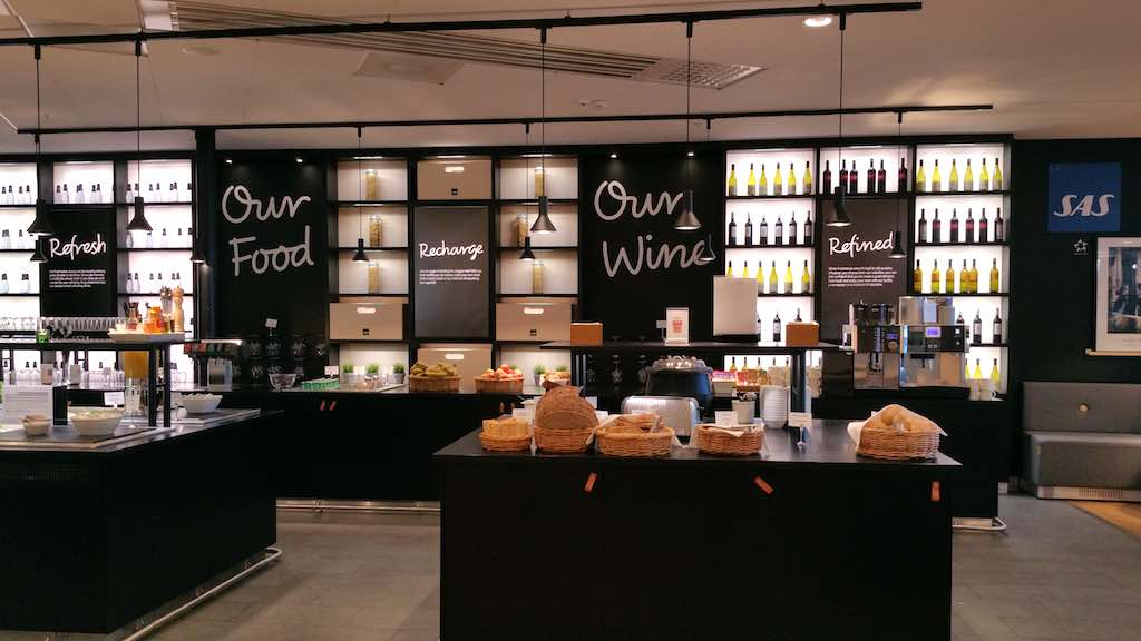 Things To Do Before Your Trip - SAS Lounge Stockholm-Arlanda