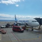 Thomas Cook Airlines Manchester to Tenerife Airbus A321 - Airplane in Tenerife.