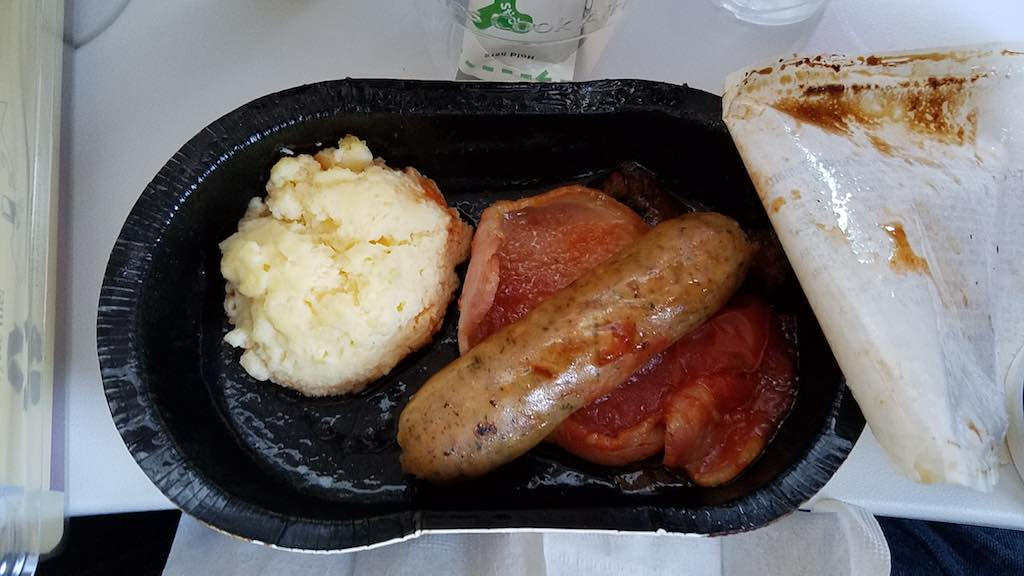 Thomas Cook Airlines - Cafe Cloud Menu - English Breakfast
