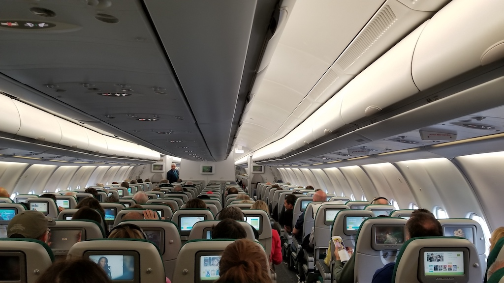 The Middle Seat Memoir: It Doesn't Always have To Suck
