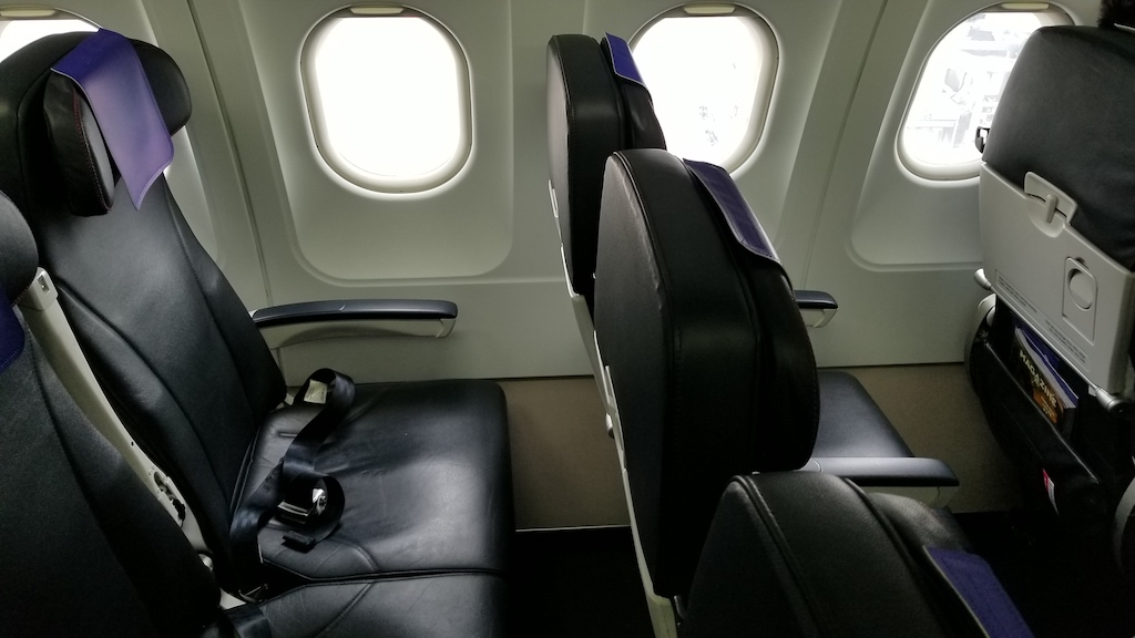 Air France joon Economy Class middle seat