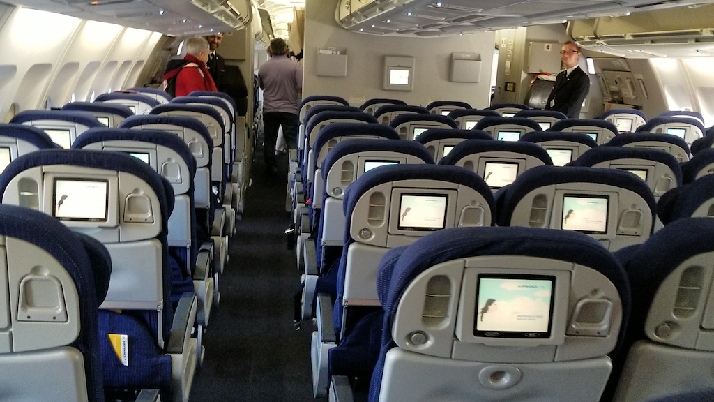 Air France (AF) Premium Economy Class Middle Seat