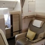 Saudia (SV) First Class Suites New York-JFK to Jeddah, Saudi Arabia (JED) November 26, 2017