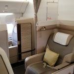 Saudia (SV) First Class Suites New York-JFK to Jeddah, Saudi Arabia (JED) November 26, 2017