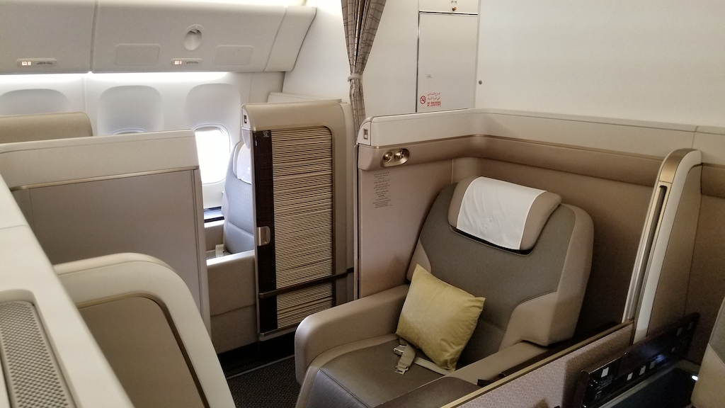 Saudia Sv First Class Suites On The Boeing 777 300er