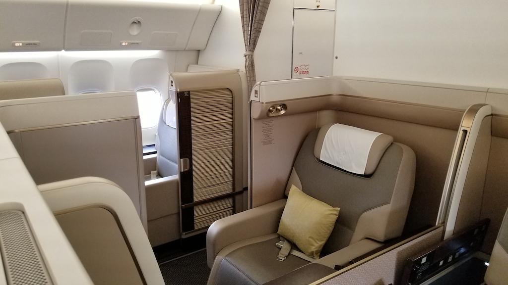 Saudi arabian airlines first class