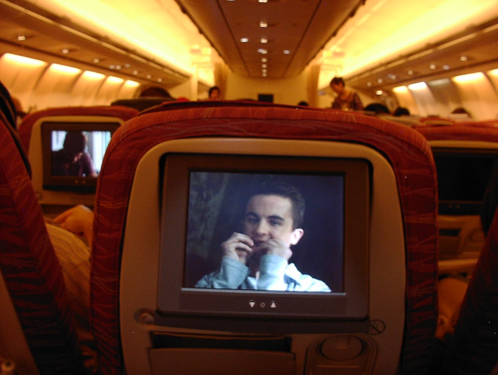 World's Longest Flight - Executive Economy Class Agent Cody Banks 2, 30 June 2004 Newark (EWR) to Singapore (SIN)