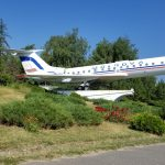 FlyOne - Airline Service Review of Chisinau, Moldova to Dublin, Ireland Antonov TU-134