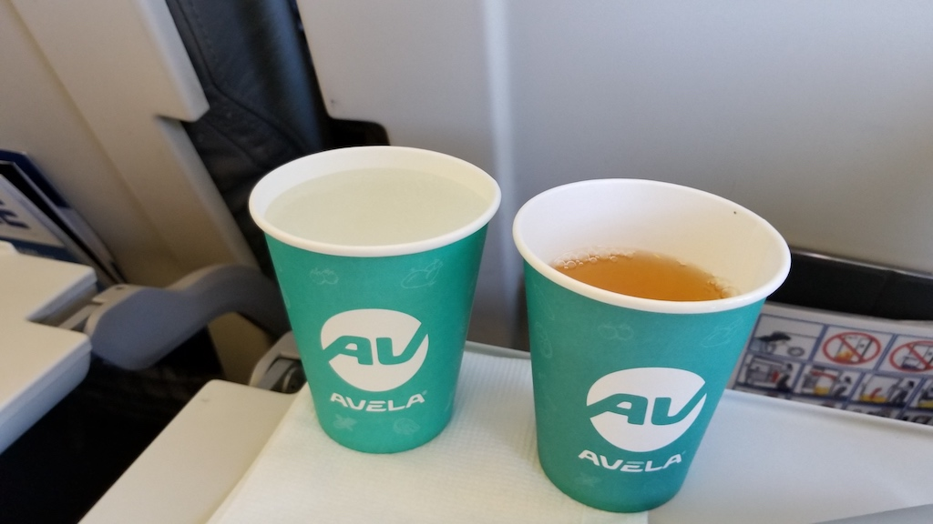 FlyOne - Airline Service Review of Chisinau, Moldova to Dublin, Ireland Airbus A320 In-flight Drinks