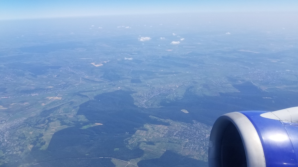 FlyOne - Airline Service Review of Chisinau, Moldova to Dublin, Ireland Airbus A320 Inflight