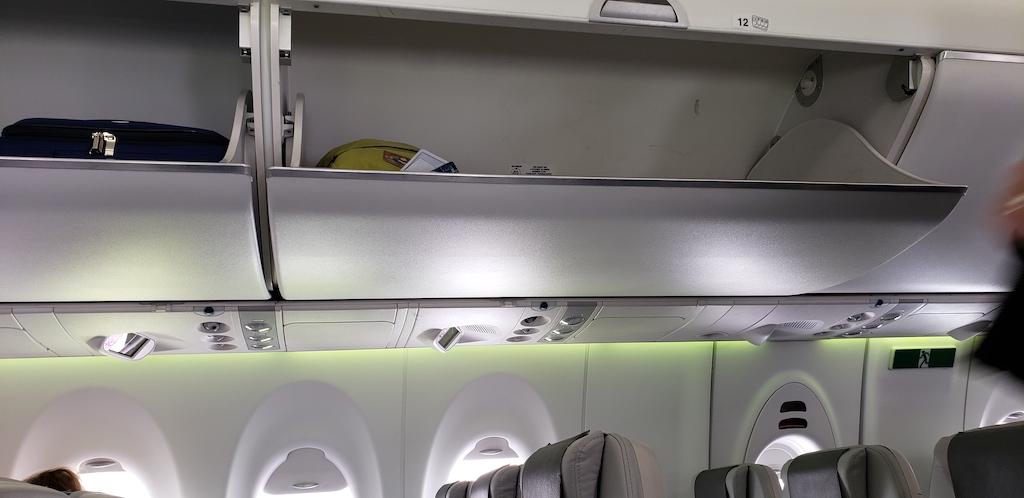 Why My Friends Hate Air Travel: Air Baltic Overhead bins