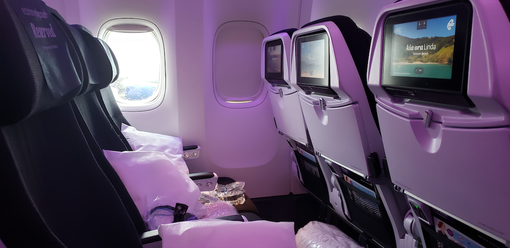 Why My Friends Hate Air Travel: Air New Zealand Boeing 77W SkyCouch